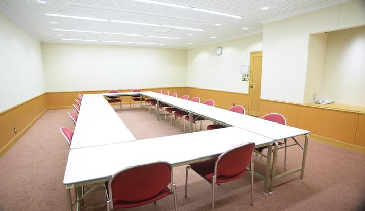 408 会議室 ロの字